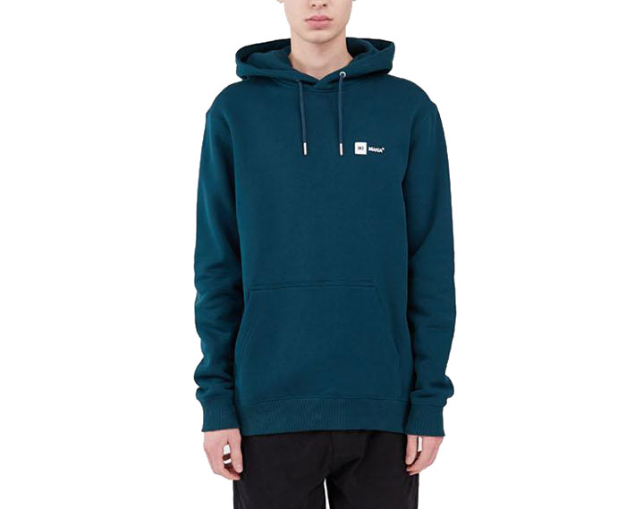 Makia Dylan Hooded Sweatshirt Teal