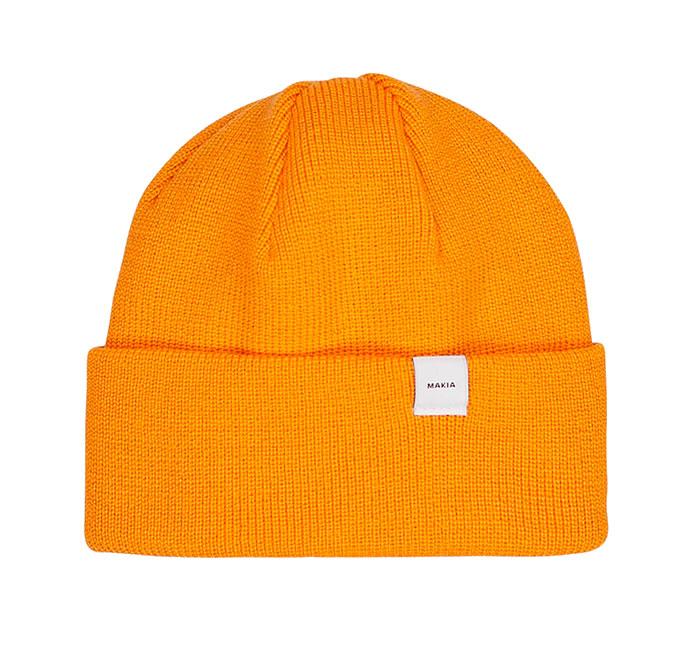 Makia Merino Thin Cap Warm Yellow