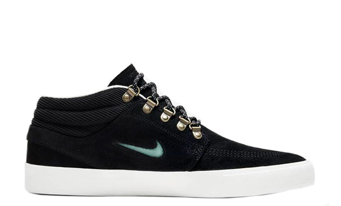 Nike SB Zoom Janoski Mid Premium Black / Glacier Ice - Black - Summit White