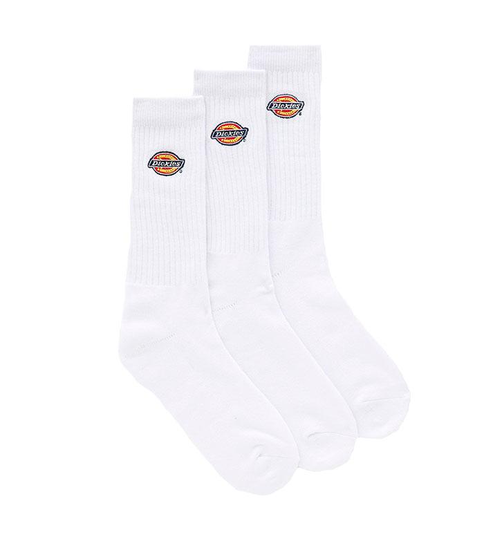 Dickies Valley Grove Logo Socks White