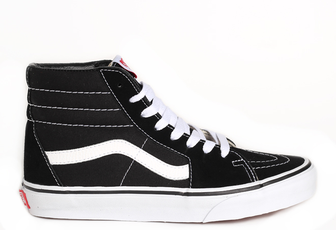 Vans SK8-Hi Black / Black / White