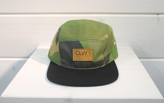 CLWR Cap Asymmetric Olive