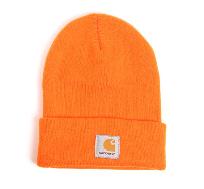 Carhartt WIP Acrylic Watch Hat Carhartt Orange - Boardvillage 6c34057f359f