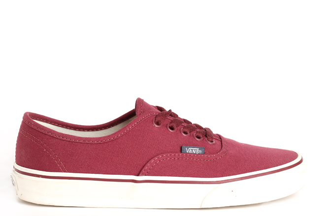 Vans Authentic (Sport Vintage) Oxblood Red