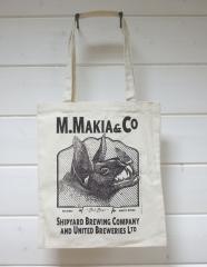 Makia Company Tote Bag Natural / Black