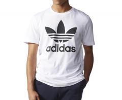 Adidas Originals Trefoil Tee White