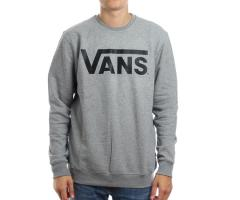 Vans Classic Crew Sweatshirt Concrete Heather