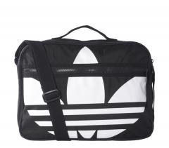 Adidas Trefoil Airliner Bag Black / White