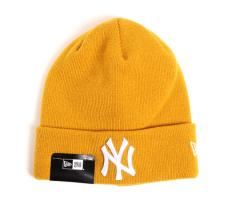 New Era Essential Cuff Knit New York Yankees Mustard