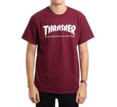 Thrasher Skate Mag Tee Maroon