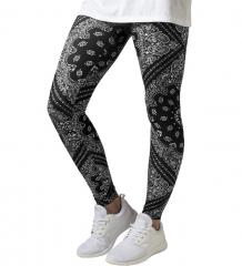 Urban Classics Womens Bandana Leggings