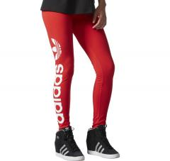 Adidas Linear Leggings Vivid Red