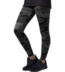 Urban Classics Womens Camo Leggings Dark Camo