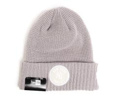 New Era Emblem Waffle Knit Yankees Gray