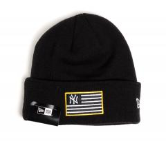 New Era MLB Flag Knit Yankees Black