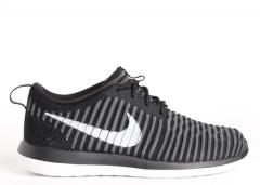 Nike Roshe Two Flyknit Black / White - Anthracite