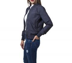 Urban Classics Womens Light Bomber Jacket Navy