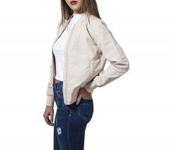 Urban Classics Womens Light Bomber Jacket Sand