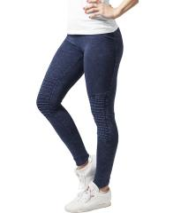 Urban Classics Womens Denim Jersey Leggings Indigo