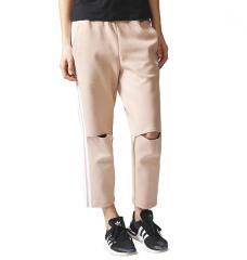 Adidas Womens Info Poster Track Pants Dust Pearl