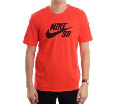 Nike SB Logo Tee Max Orange / Obsidian