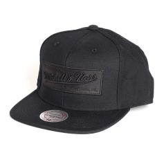 Mitchell & Ness Box Logo Snapback Black