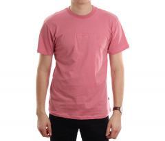 Huf Overdye Bar Logo Tee Pink