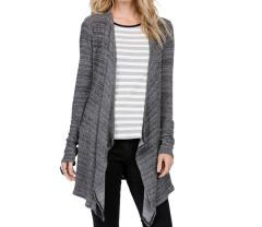 Volcom Womens Lived In Go Wrap Cardigan Black