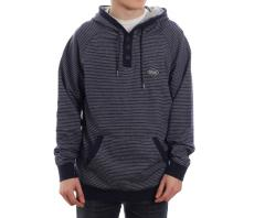 Rip Curl Hooded Stripe Fleece Mood Indigo