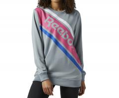 Reebok Classics Graphic Crewneck Sweatshirt Flint Grey