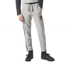 Adidas Originals 3-Striped French Terry Sweat Pants Medium Grey Heather