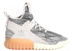 Adidas Tubular X Primeknit Crystal White / Core Black