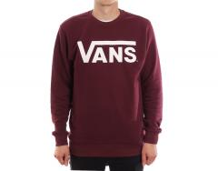 Vans Classic Crew Sweatshirt Port Royale / White