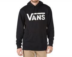 Vans Classic Pullover Hoodie Black / White