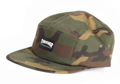 Thrasher 5 Panel Cap Camouflage