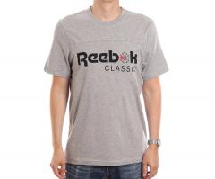 Reebok Classics Iconic Tee Medium Grey Heather