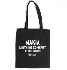 Makia Mark Tote Bag Black