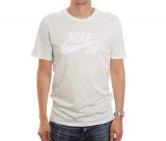 Nike SB Logo Tee Barely Green / White