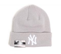 New Era Basic Cuff Knit New York Yankees Grey