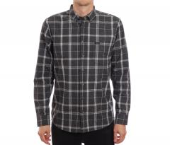 Makia Haven Shirt Grey / Dark Grey