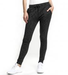 Urban Classics Womens Space Dye Terry Jogpants Black / White