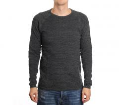 Gabba Larry O-Neck Knit Black Melange