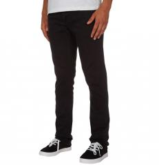 Volcom 2x4 Skinny Fit Jeans Ink Black