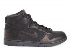 Nike SB Dunk Hi Pro Bota Black / Black
