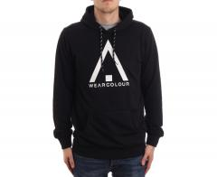Wear Colour Wear Hoodie Black