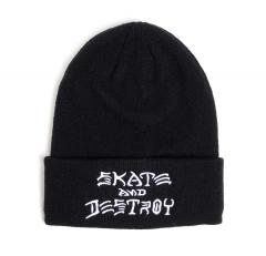Thrasher Skate And Destroy Beanie Black