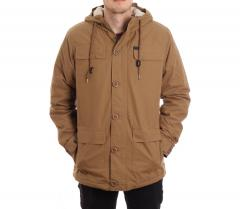 Globe Goodstock Thermal Parka Jacket Taupe