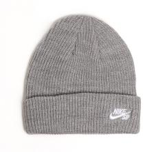 Nike SB Fisherman Beanie Dark Grey / White