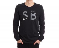 Nike SB Dri-Fit Brand Longsleeve Black  / White / Cool Grey
