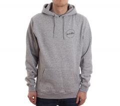 Boardvillage Round Logo Hoodie Heather Grey